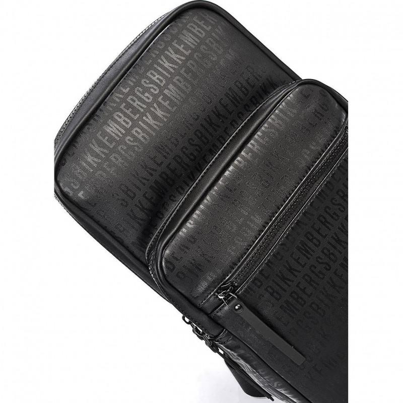 Сумка-клатч мужская Bikkembergs E2APME810032D38 black/black All Over 003