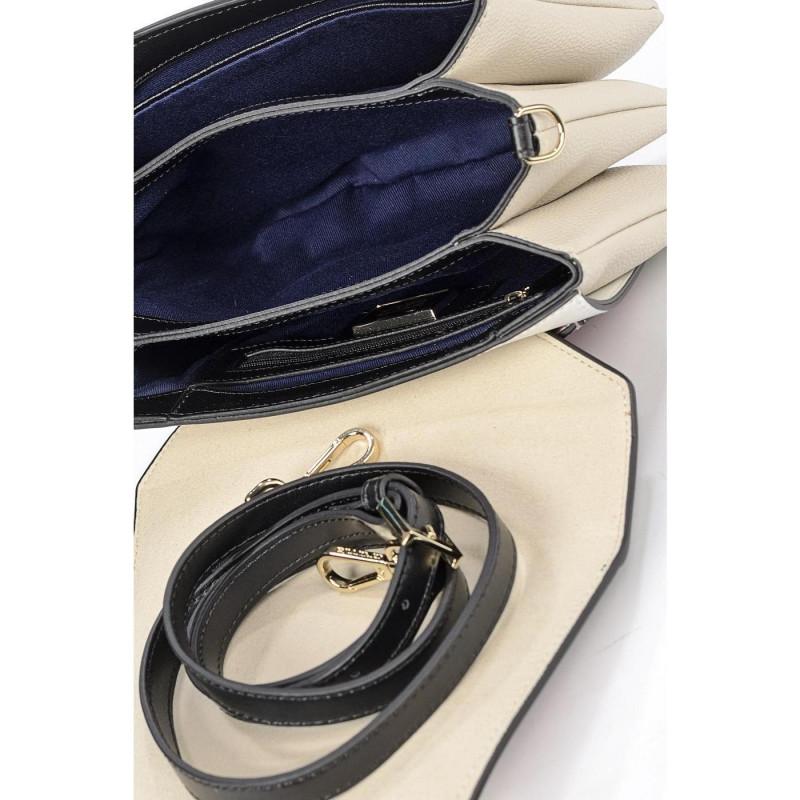 Сумка-клатч женская Cromia CR1404751 nero-beige Avantgarde
