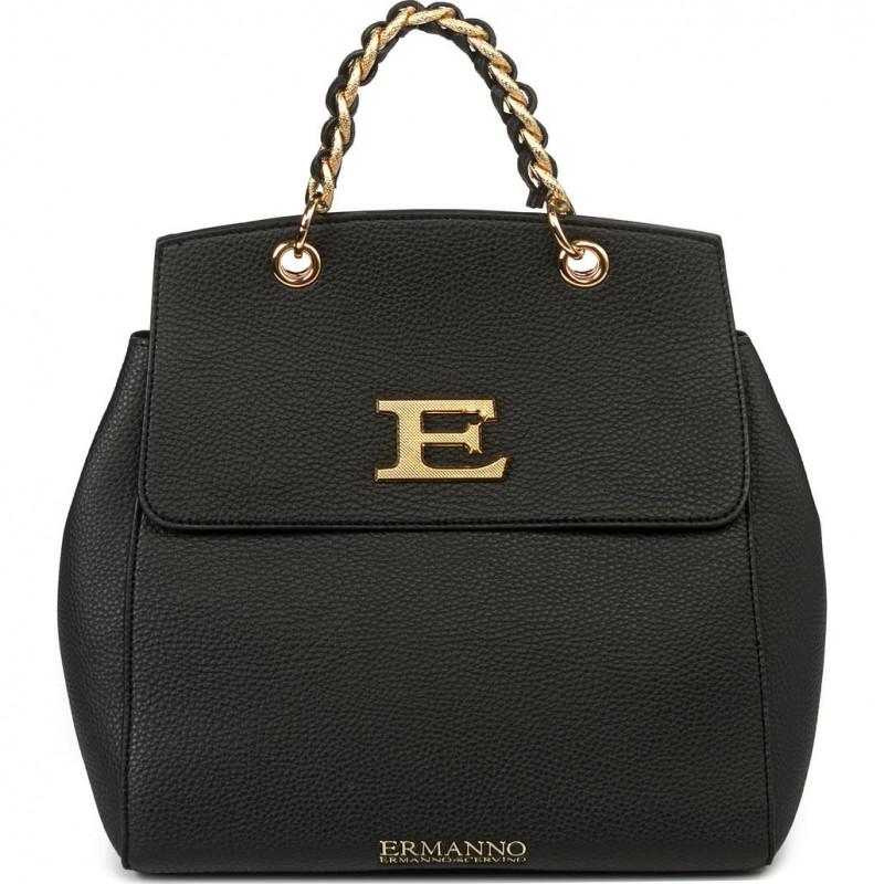 Сумка-рюкзак женская Ermanno Scervino ESC12401035 black Eba winter plain