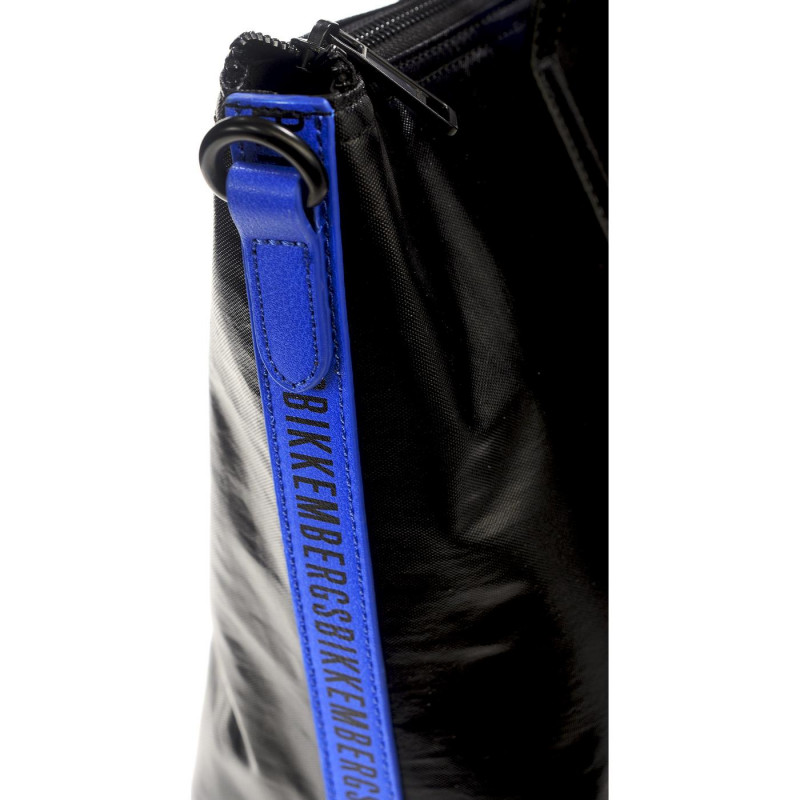 Сумка мужская Bikkembergs E4APWE1B0092B16 black/blue New Coated 009