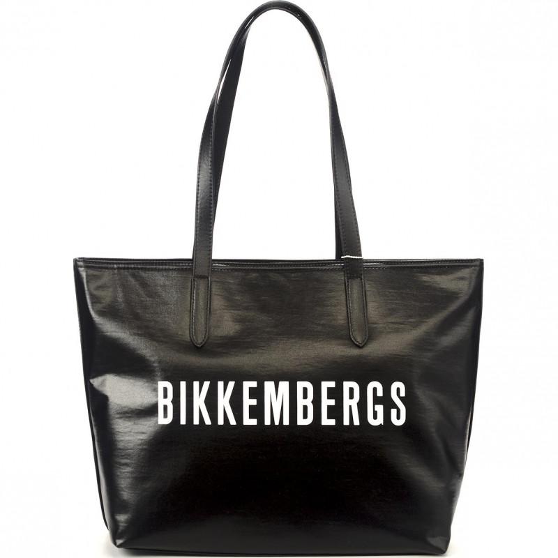Сумка мужская Bikkembergs E4APWE1B0102B01 black/white New Coated 010