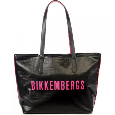 Сумка мужская Bikkembergs E4APWE1B0102B09 black/fuxia New Coated 010