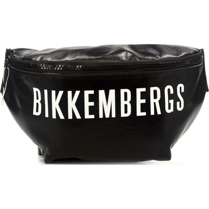Сумка-клатч мужская Bikkembergs E4APME1B0032B01 black/white New Coated 003