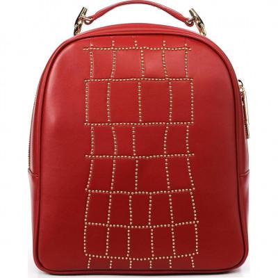 Сумка-рюкзак женская Cavalli Class C72PWCNP0065060 red Croco Lux 006