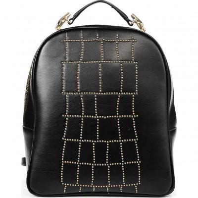 Сумка-рюкзак женская Cavalli Class C72PWCNP0065999 black Croco Lux 006