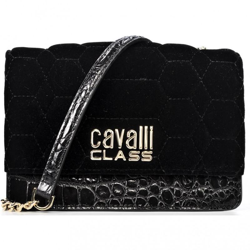 Сумка-клатч женская Cavalli Class LXB663 VL074 nero New york
