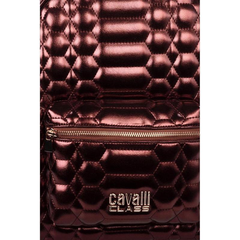 Сумка-рюкзак женская Cavalli Class LXB660 AB827 bordo Boston