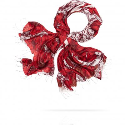 Палантин Женский S30-RENAISSANCE.FL/RED (110 x 180)