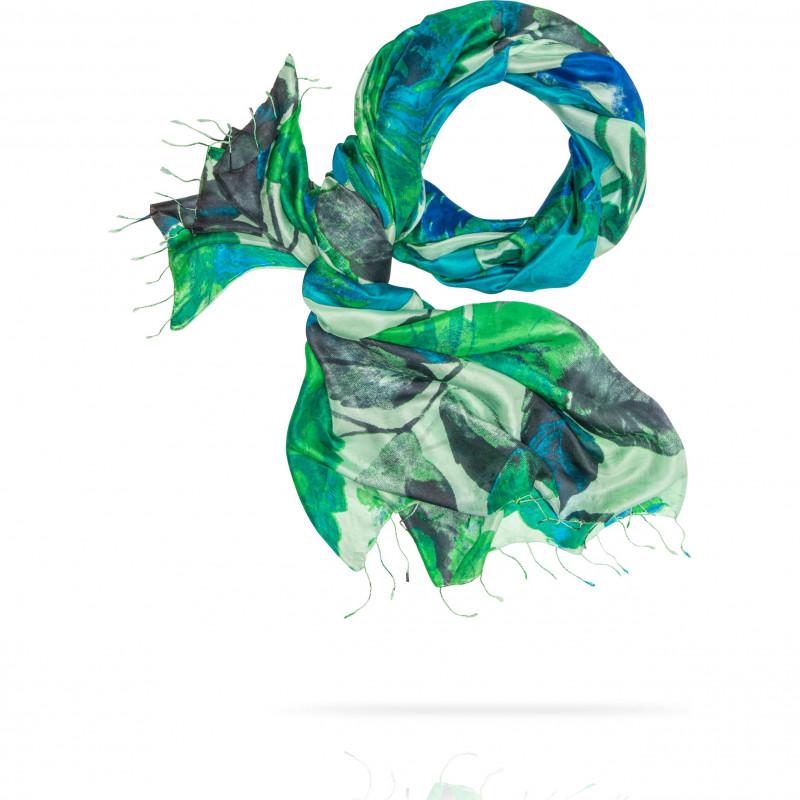 Палантин Женский S30-RIVIERA.FL/BLUE.GREEN (110 x 180)