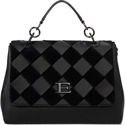Сумка женская Ermanno Scervino ESC12401040 black Eba winter woven
