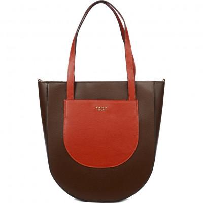 Сумка женская Tosca Blu TF20DB120 brown/brick
