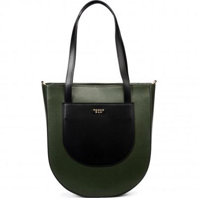Сумка женская Tosca Blu TF20DB120 green/black