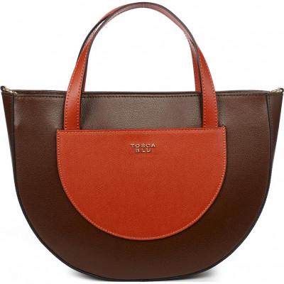 Сумка женская Tosca Blu TF20DB121 brown/brick