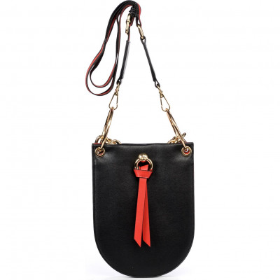 Сумка-клатч женская Tosca Blu TF2039B83 black/red