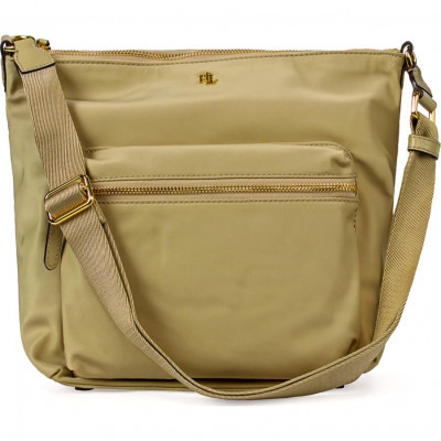 Сумка-клатч женская Lauren Ralph Lauren LR431795039004 light beige shoulder bag