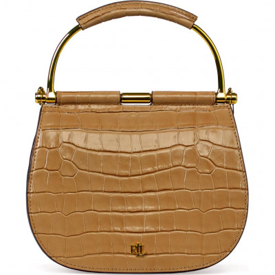 Сумка-клатч женская Lauren Ralph Lauren LR431802640006 natural satchel
