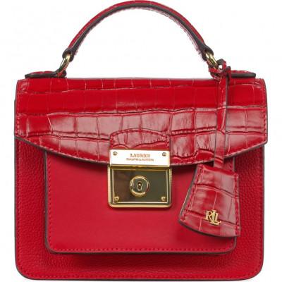 Сумка-клатч женская Lauren Ralph Lauren LR431810808001 red satchel