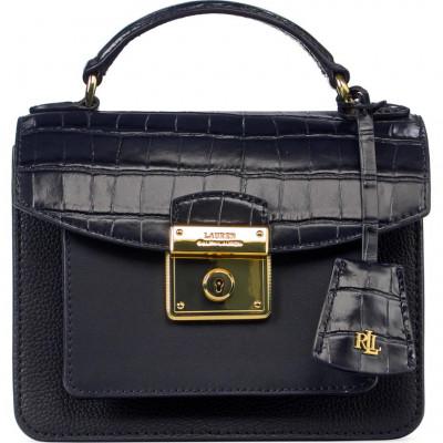 Сумка-клатч женская Lauren Ralph Lauren LR431810808002 navy satchel