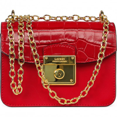 Сумка-клатч женская Lauren Ralph Lauren LR431810809001 red crossbody