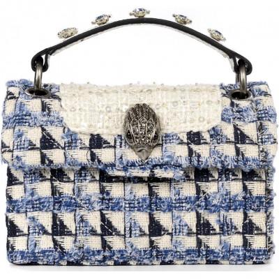 Сумка-клатч женская Kurt Geiger KG1675112609 white/navy-fabric