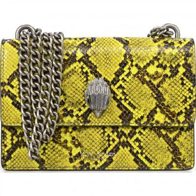 Сумка-клатч женская Kurt Geiger KG2888793719 yellow-snake print