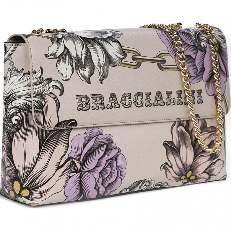 Сумка женская Braccialini B14302-YY-2994 flower britney ecopelle