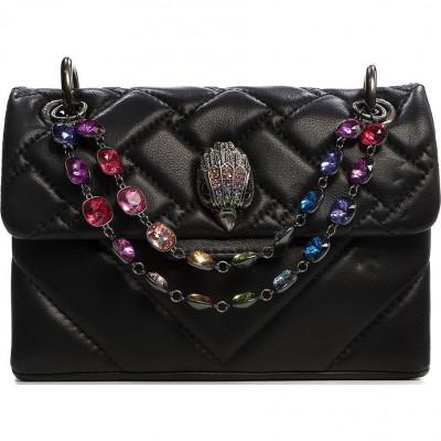 Сумка-клатч женская Kurt Geiger KG5270505109 black/comb-leather