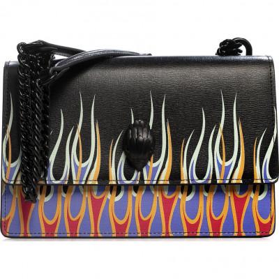 Сумка-клатч женская Kurt Geiger KG5292605119 black/comb-printed leather