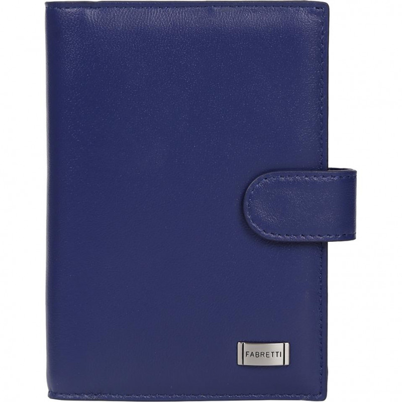 Обложка для документов женская Fabretti 54019-blue