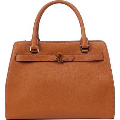 Сумка женская Lauren Ralph Lauren LR431809891009 brown satchel