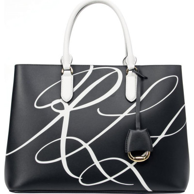 Сумка женская Lauren Ralph Lauren LR431832284001 black satchel