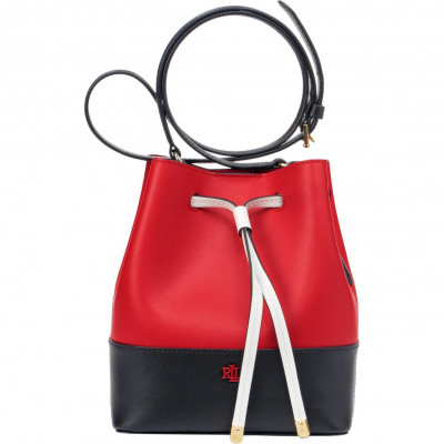 Сумка-клатч женская Lauren Ralph Lauren LR431818578002 red drawstring