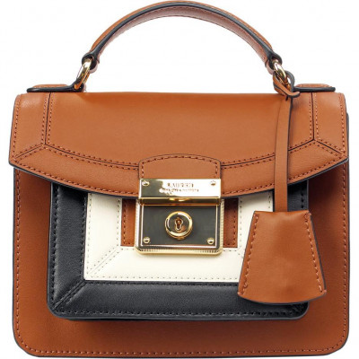 Сумка-клатч женская Lauren Ralph Lauren LR431818839002 brown satchel