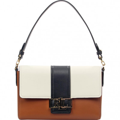 Сумка-клатч женская Lauren Ralph Lauren LR431826060002 brown shoulder bag
