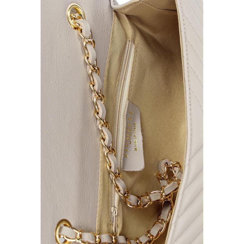 Сумка-клатч женская Piumelli ELEANOR S86 PEARLY GREY