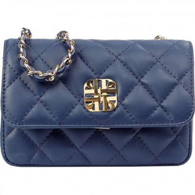 Сумка-клатч женская Piumelli HANNAH S24 NAVY BLUE
