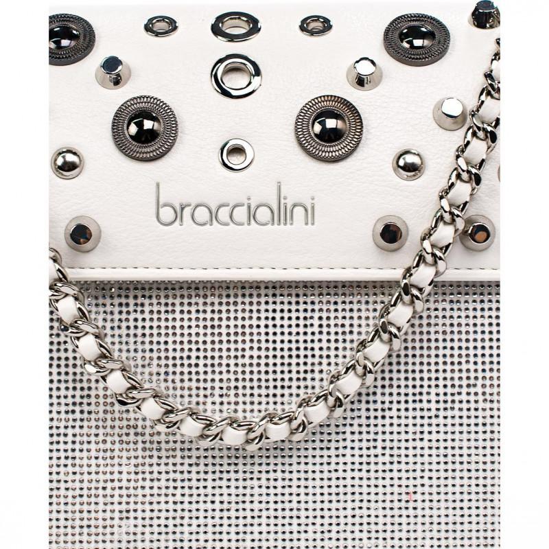 Сумка Braccialini B14841-YY-001 bianco rock ecopelle