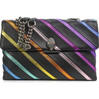 Сумка Kurt Geiger KG2886800109 lthr lg kensington s bag-black-leather