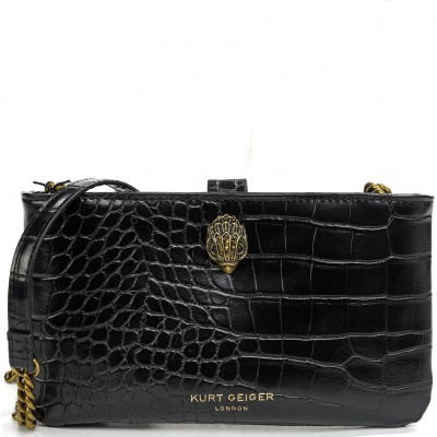 Сумка Kurt Geiger KG3035700979 eagle pouch with chain-black-synthetic
