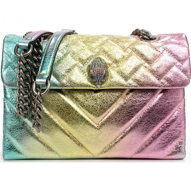 Сумка-клатч Kurt Geiger KG539957109 leather kensington bag-pink comb-leather