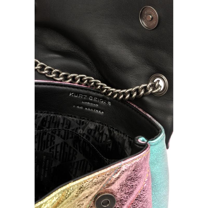 Сумка-клатч Kurt Geiger KG8283057109 leather md kensington bag-pink comb-leather