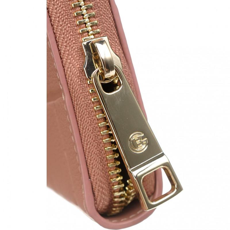 Кошелёк женский Baldinini G3BPWG6L1923028 cognac w/zip Soft Croco