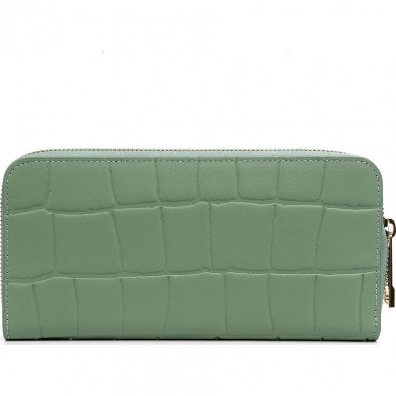 Кошелёк женский Baldinini G3BPWG6L1923070 green w/zip Soft Croco 1