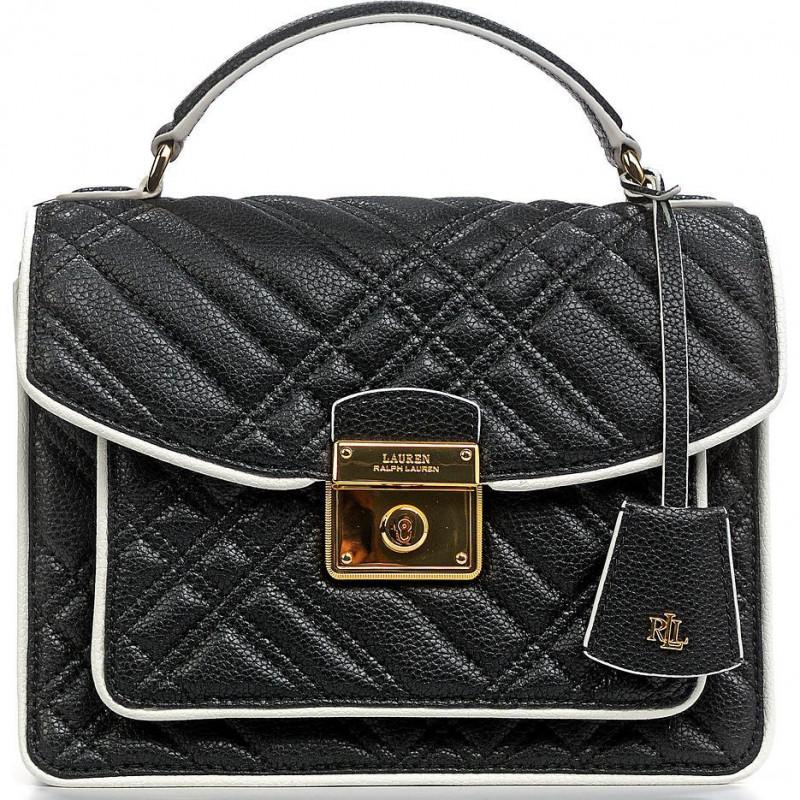 Сумка Lauren Ralph Lauren LR431837601002 black satchel