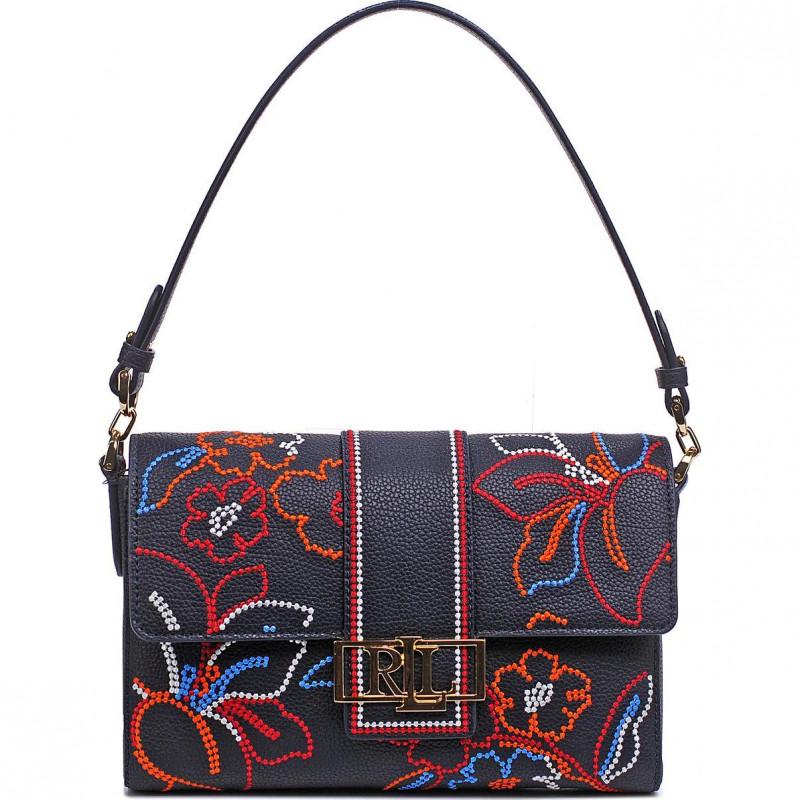 Сумка Lauren Ralph Lauren LR431826804001 navy shoulder bag