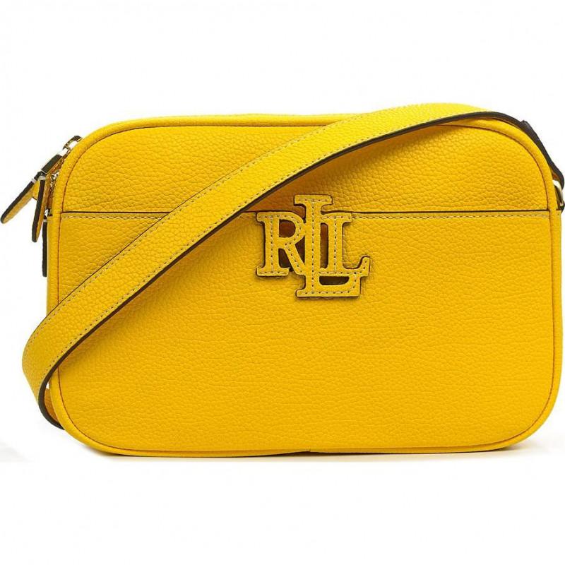 Сумка Lauren Ralph Lauren LR431837540007 bright yellow crossbody