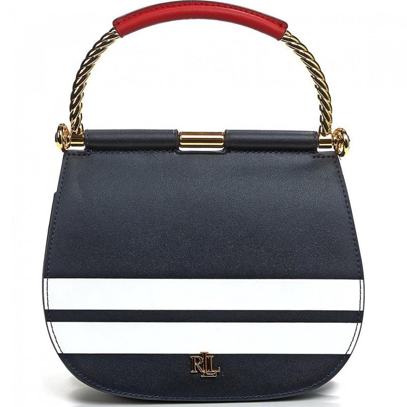 Сумка Lauren Ralph Lauren LR431837541001 navy satchel