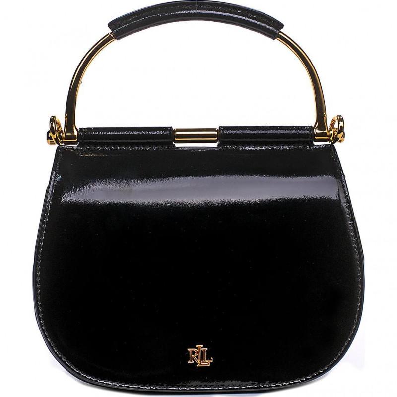 Сумка Lauren Ralph Lauren LR431839749001 black satchel