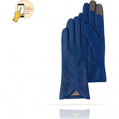 Перчатки Женские io.K11-ETNICHE/BLUE.GR ЦБ-00010139