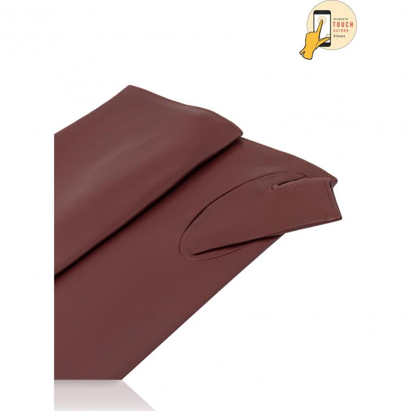 Перчатки-митенки Женские io.K81-ARTISI/WINE ЦБ-00010120